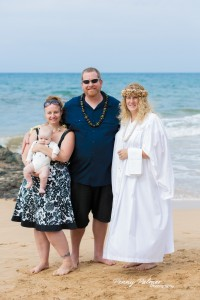 Maui baby blessing